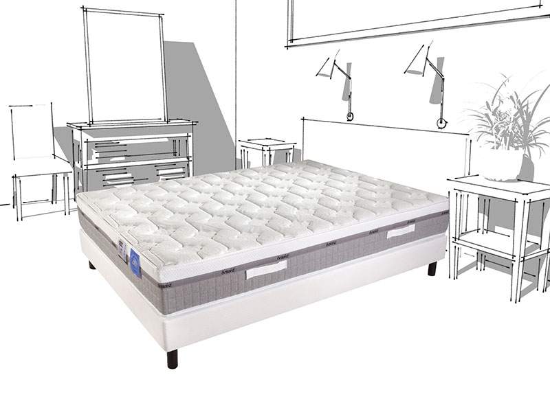 Matelas Room Latex 140 cm x 190 cm