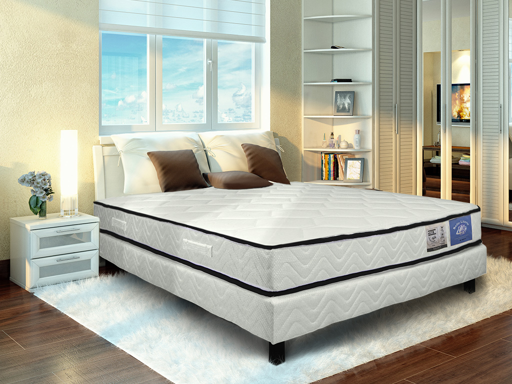 matelas ressorts ensach s 90x190 belle literie. Black Bedroom Furniture Sets. Home Design Ideas
