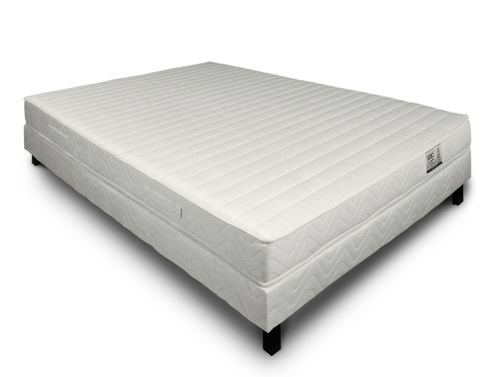 Matelas Pop'up contact latex 90 cm x 190 cm