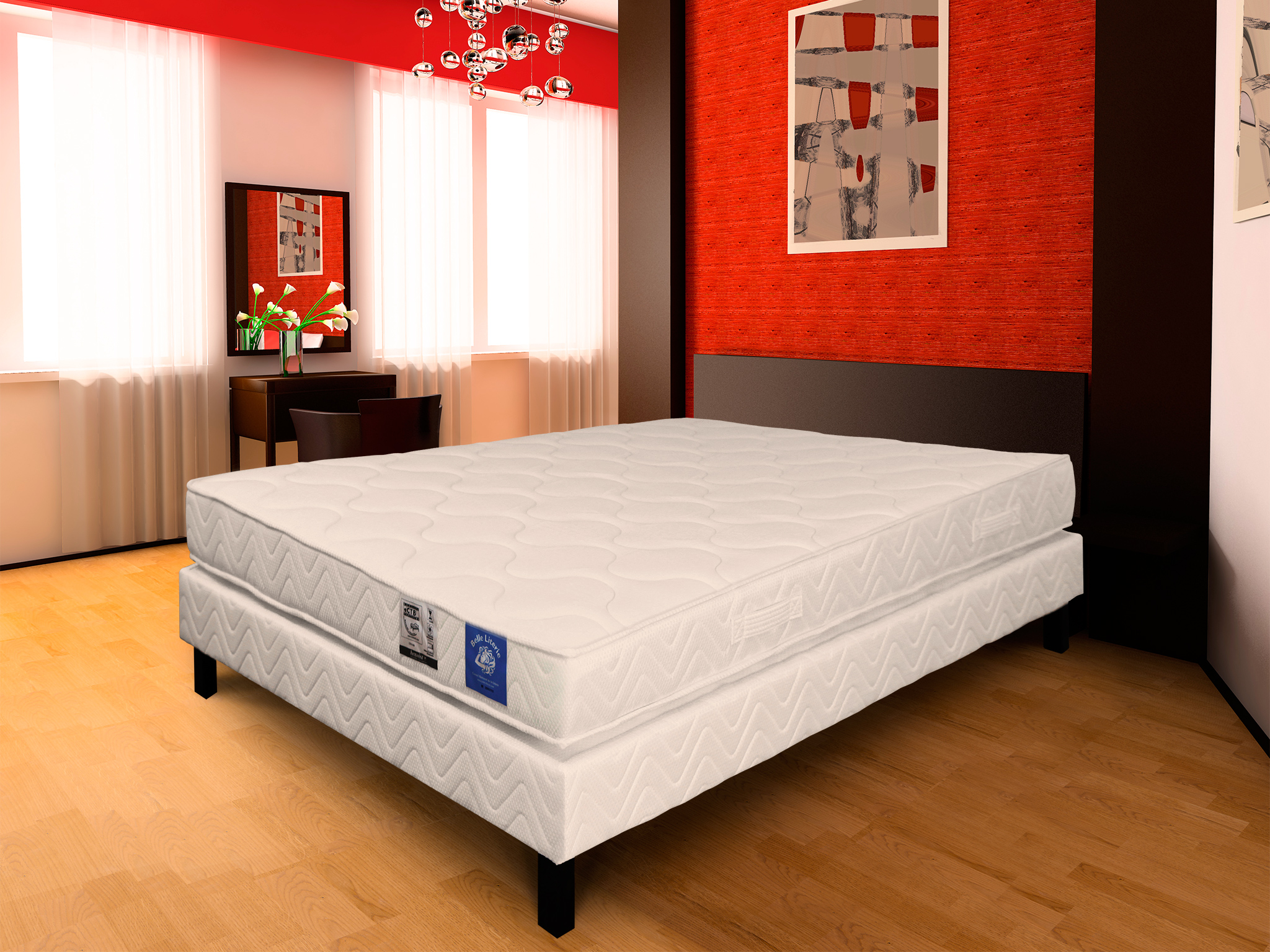 matelas mousse m moire de forme 90x190 avec garnissage m moire de forme. Black Bedroom Furniture Sets. Home Design Ideas